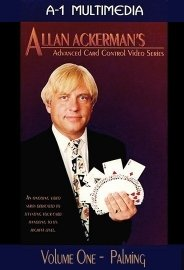 Allan Ackerman Advanced Card Control Vol. 1 Palming DVD