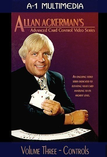 Allan Ackerman Advanced Card Control Vol. 3 Controls DVD