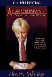 Allan Ackerman Card Control Volume 5 Shuffle Work DVD