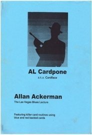 Allan Ackerman Al Cardpone Book