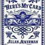 Allan Ackerman Here's My Card Book