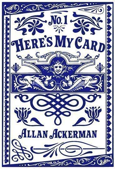 Allan Ackerman Here's My Card Book