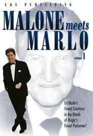 Malone Meets Marlo Volume 1 Bill Malone DVD