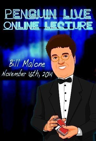 Bill Malone Penguin Live Lecture 11 16 2014