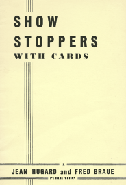 Jean Hugard Showstoppers with Cards Book